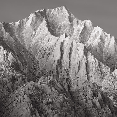 387 the sierra nevada before dawn owens valley california black and white.428.detail