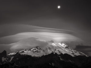 538 moonset over rainier washington black and white.748.lightbox